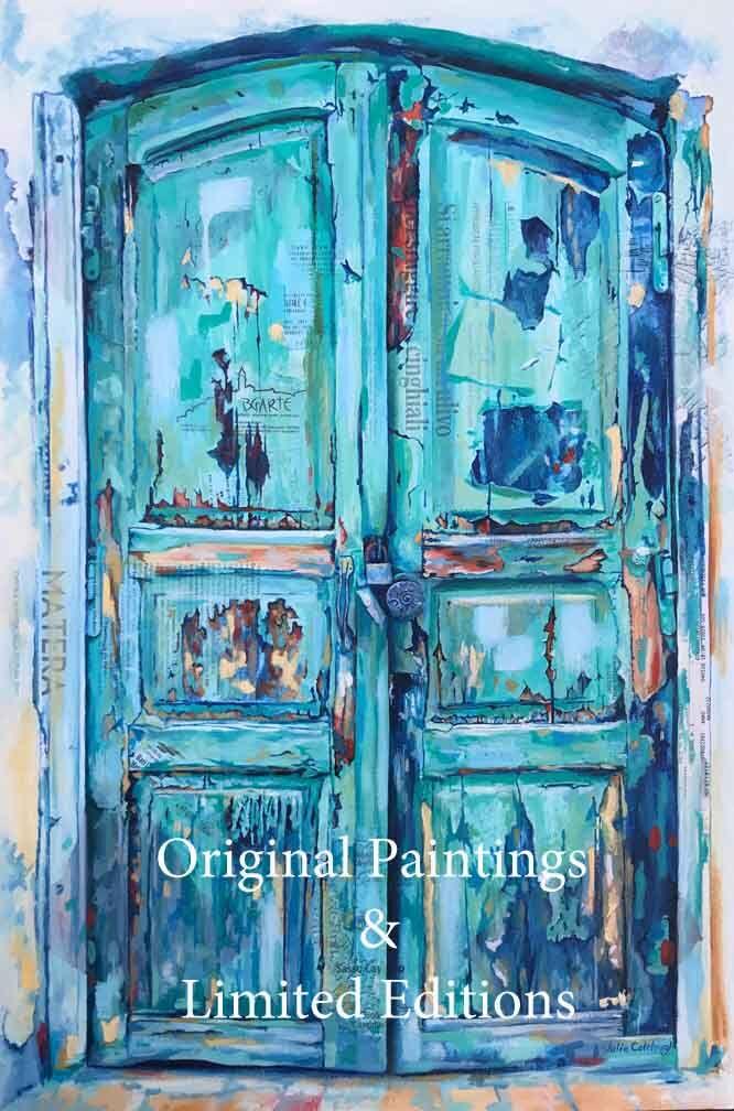 Italy paintings - door