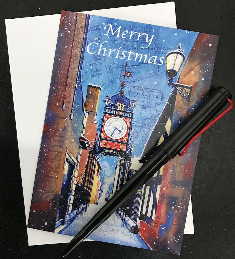 Chester Christmas card