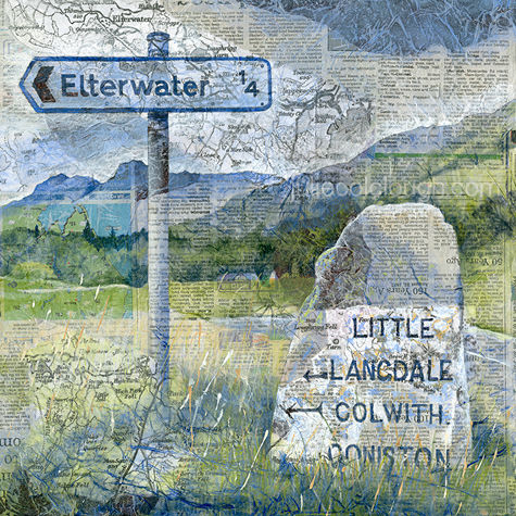 Elterwater, The Lake District - Signpost Series