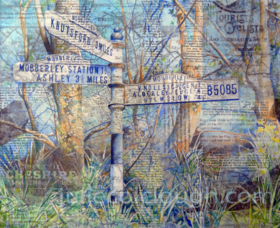 Mobberley / Knutsford Signpost Series