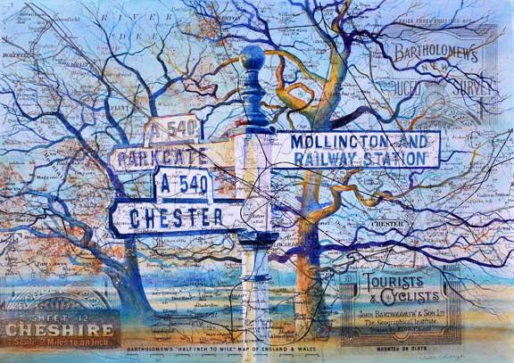 Chester Mollington Parkgate Signpost Series